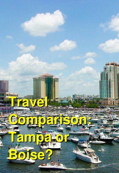 Tampa vs. Boise Travel Comparison