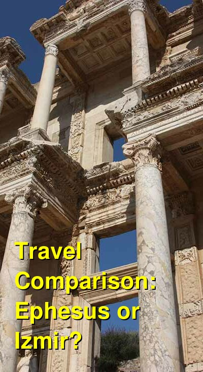 Ephesus vs. Izmir Travel Comparison