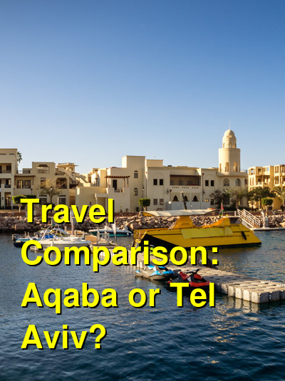 Aqaba vs. Tel Aviv Travel Comparison