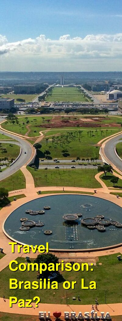 Brasilia vs. La Paz Travel Comparison