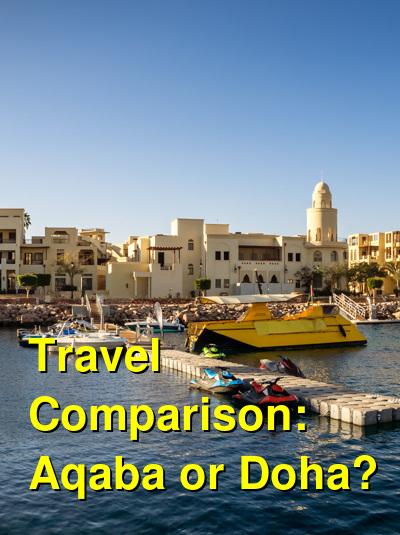 Aqaba vs. Doha Travel Comparison