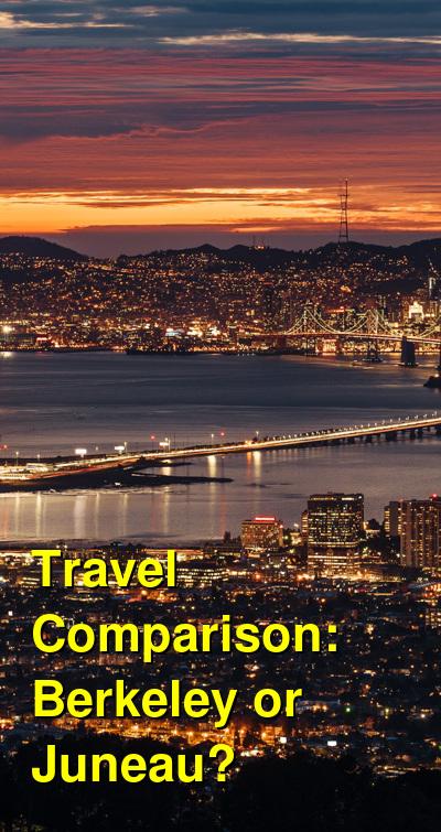 Berkeley vs. Juneau Travel Comparison