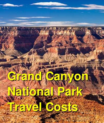 Grand Canyon National Park Travel Costs & Prices - The North Rim and South Rim | BudgetYourTrip.com