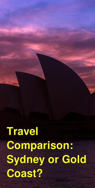 Sydney vs. Gold Coast Travel Comparison