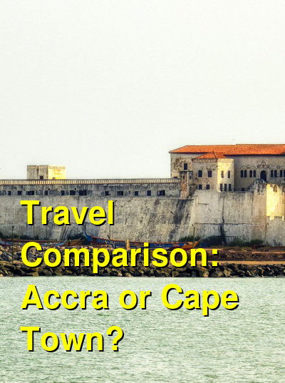 Accra vs. Cape Town Travel Comparison