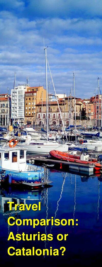Asturias vs. Catalonia Travel Comparison