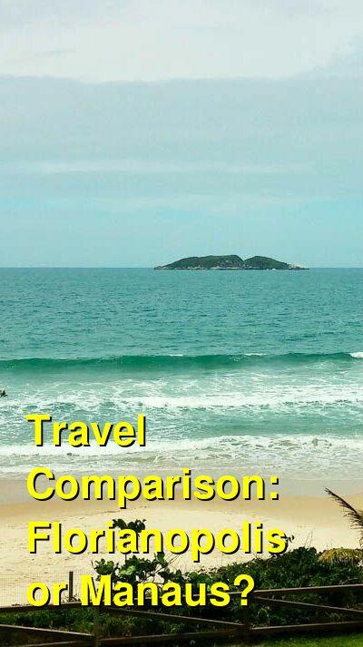 Florianopolis vs. Manaus Travel Comparison