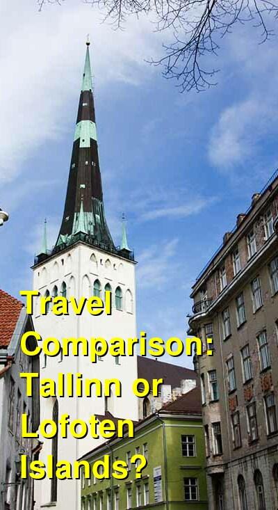 Tallinn vs. Lofoten Islands Travel Comparison