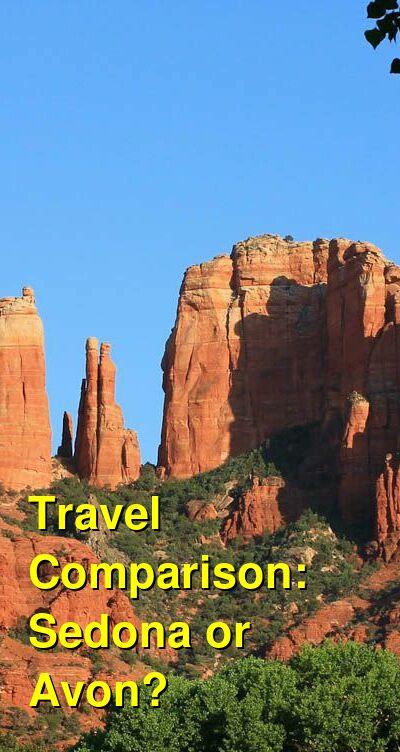 Sedona vs. Avon Travel Comparison