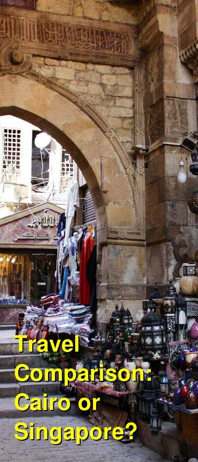 Cairo vs. Singapore Travel Comparison