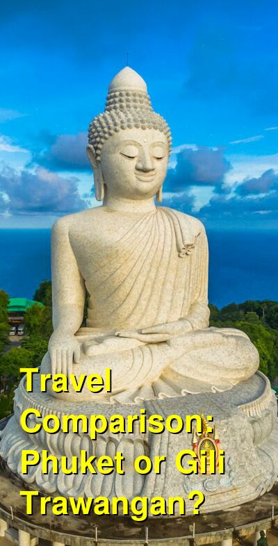 Phuket vs. Gili Trawangan Travel Comparison