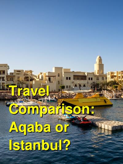 Aqaba vs. Istanbul Travel Comparison
