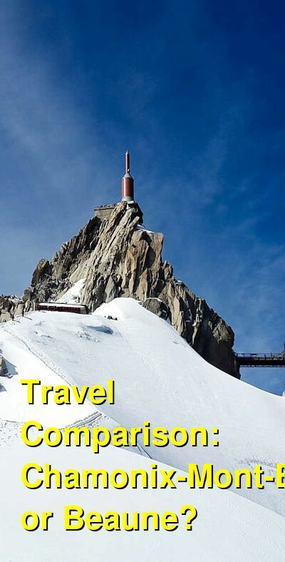 Chamonix-Mont-Blanc vs. Beaune Travel Comparison