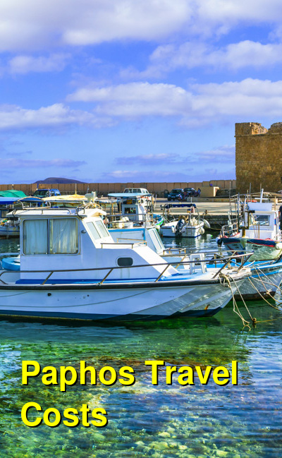 Paphos Travel Cost - Average Price of a Vacation to Paphos: Food & Meal Budget, Daily & Weekly Expenses | BudgetYourTrip.com