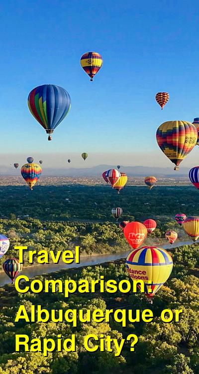 Albuquerque vs. Rapid City Travel Comparison