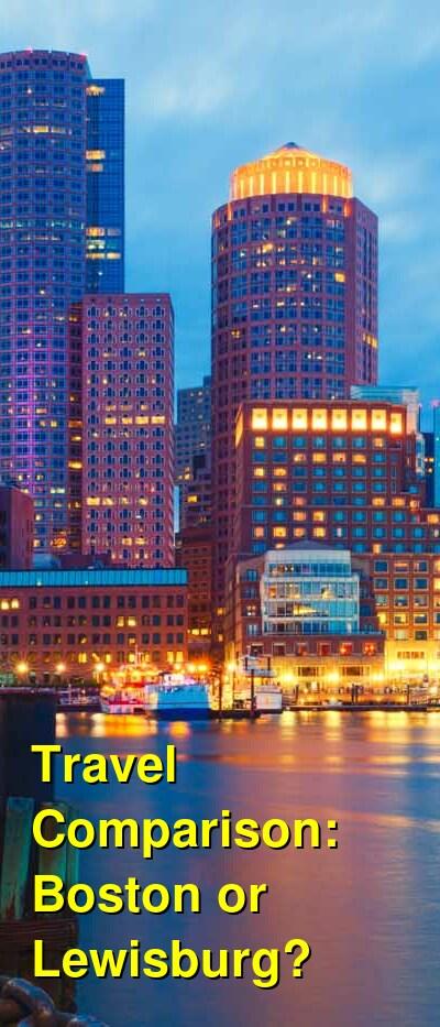 Boston vs. Lewisburg Travel Comparison