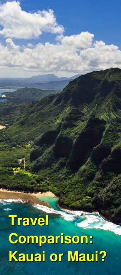 Kauai vs. Maui Travel Comparison