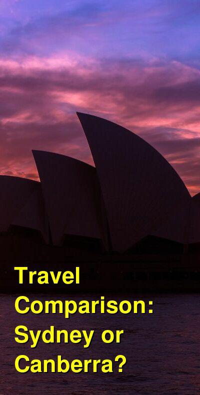 Sydney vs. Canberra Travel Comparison