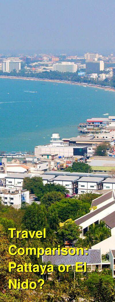 Pattaya vs. El Nido Travel Comparison