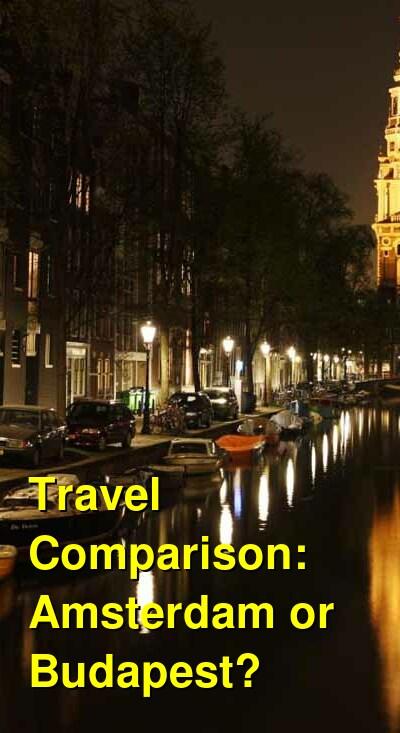 Amsterdam vs. Budapest Travel Comparison