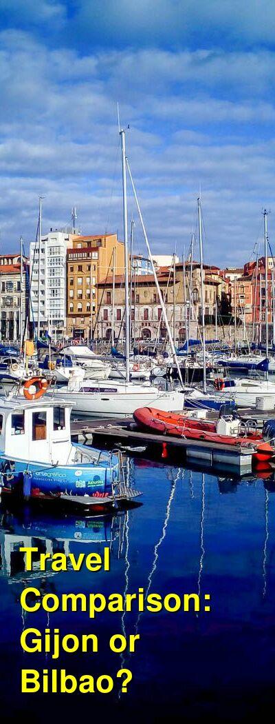 Gijon vs. Bilbao Travel Comparison