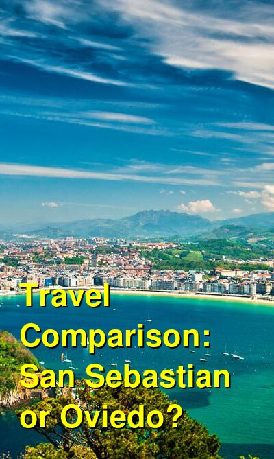San Sebastian vs. Oviedo Travel Comparison