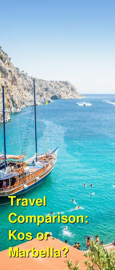 Kos vs. Marbella Travel Comparison