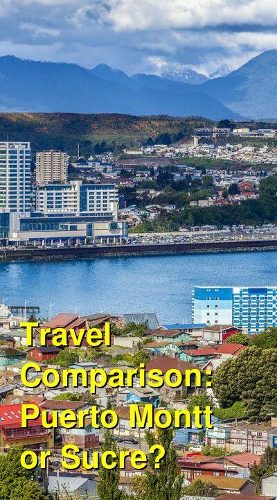 Puerto Montt vs. Sucre Travel Comparison