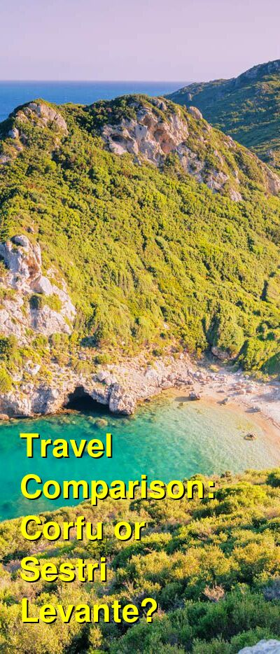 Corfu vs. Sestri Levante Travel Comparison