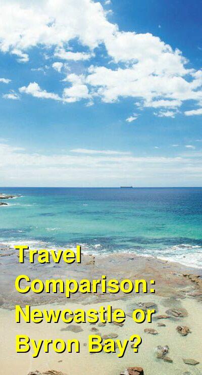 Newcastle vs. Byron Bay Travel Comparison