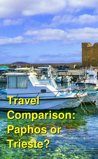Paphos vs. Trieste Travel Comparison