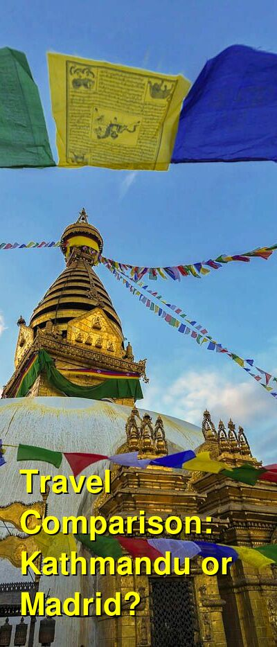 Kathmandu vs. Madrid Travel Comparison