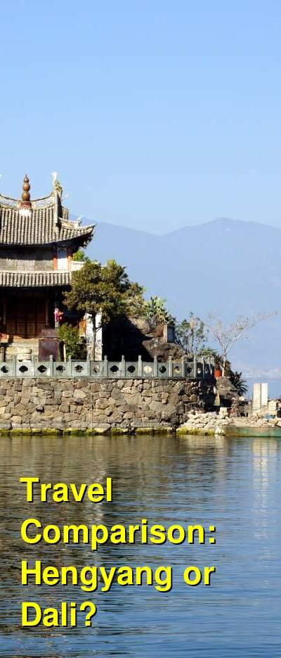 Hengyang vs. Dali Travel Comparison