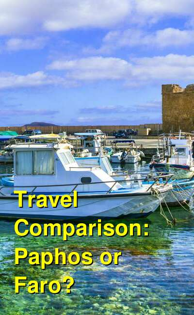 Paphos vs. Faro Travel Comparison