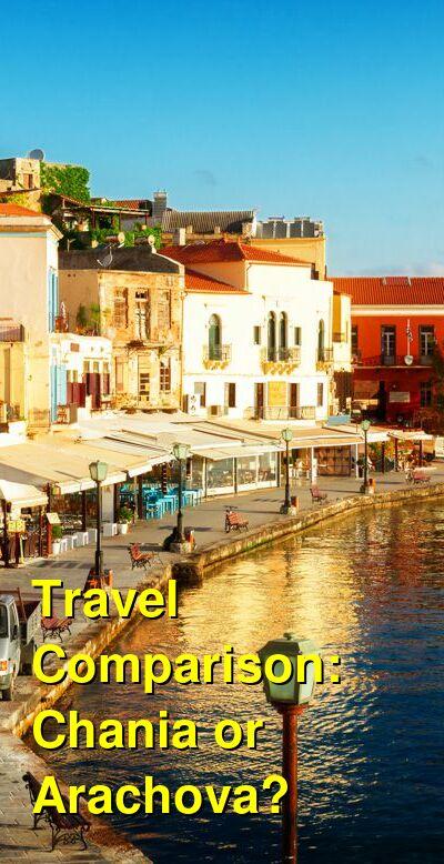 Chania vs. Arachova Travel Comparison
