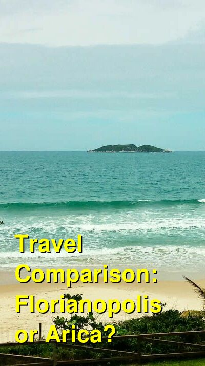 Florianopolis vs. Arica Travel Comparison