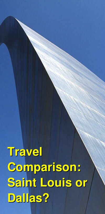 Saint Louis vs. Dallas Travel Comparison