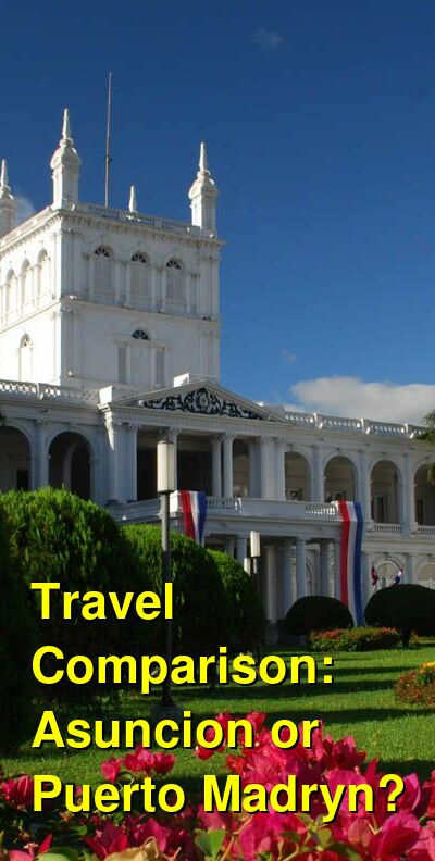 Asuncion vs. Puerto Madryn Travel Comparison