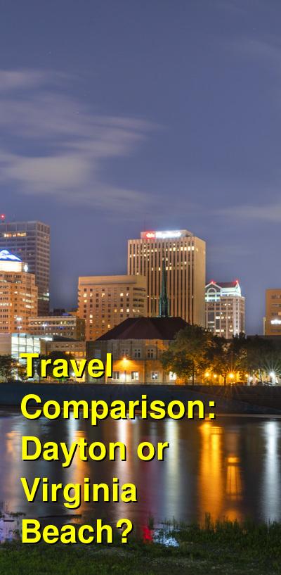 Dayton vs. Virginia Beach Travel Comparison