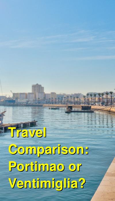 Portimao vs. Ventimiglia Travel Comparison