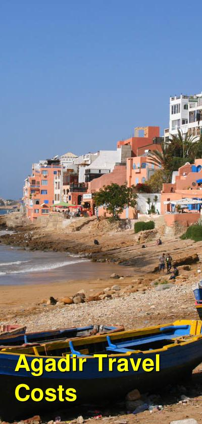 Agadir Travel Cost - Average Price of a Vacation to Agadir: Food & Meal Budget, Daily & Weekly Expenses | BudgetYourTrip.com