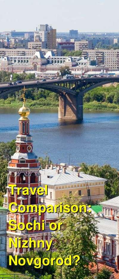 Sochi vs. Nizhny Novgorod Travel Comparison
