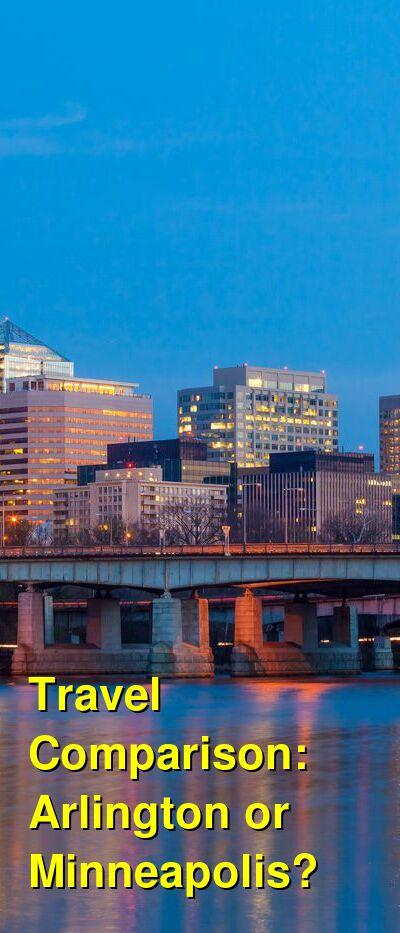 Arlington vs. Minneapolis Travel Comparison