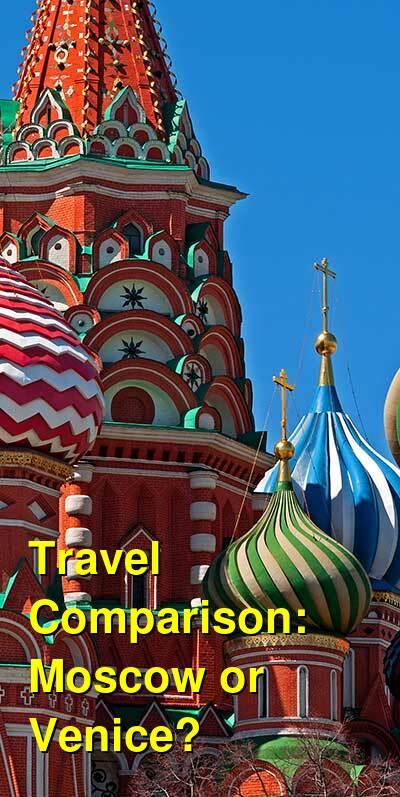 Moscow vs. Venice Travel Comparison