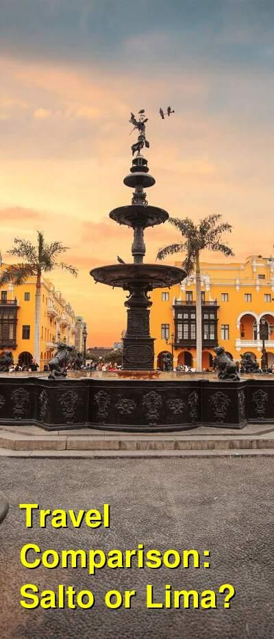 Salto vs. Lima Travel Comparison