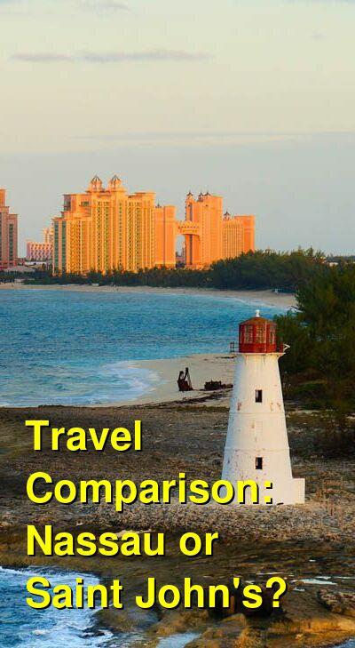 Nassau vs. Saint John's Travel Comparison