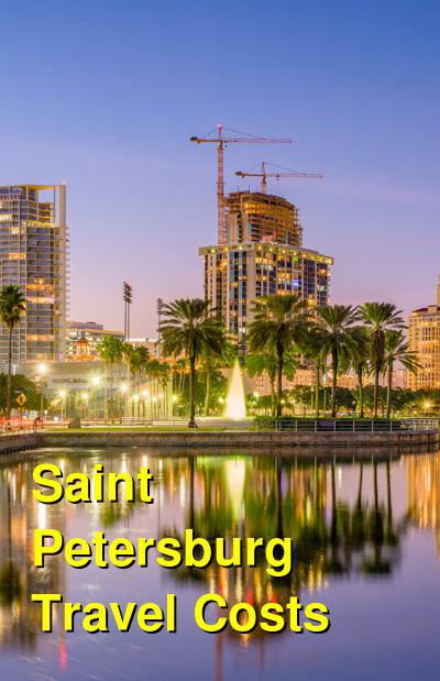 Saint Petersburg Travel Cost - Average Price of a Vacation to Saint Petersburg: Food & Meal Budget, Daily & Weekly Expenses | BudgetYourTrip.com