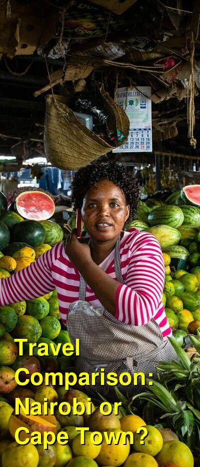 Nairobi vs. Cape Town Travel Comparison