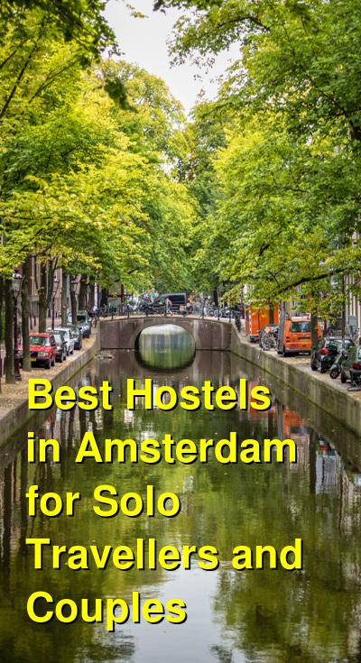 Best Hostels in Amsterdam for Solo Travellers and Couples | Budget Your Trip