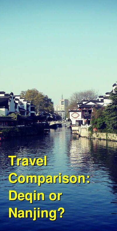 Deqin vs. Nanjing Travel Comparison